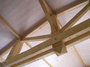 Construire cologique structure poteaux poutres for Constructeur de maison en bois poteau poutre